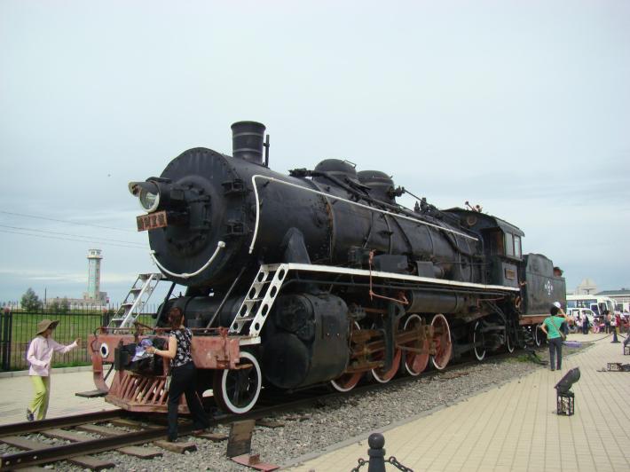 蒸汽火车头广场