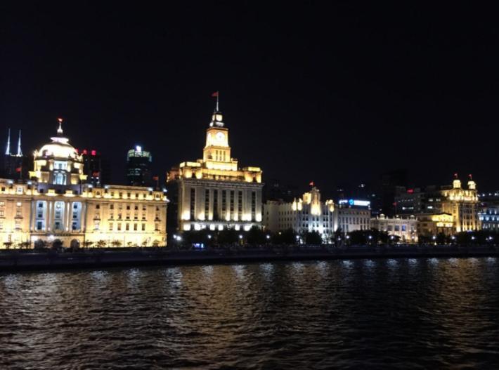 黄浦江夜游