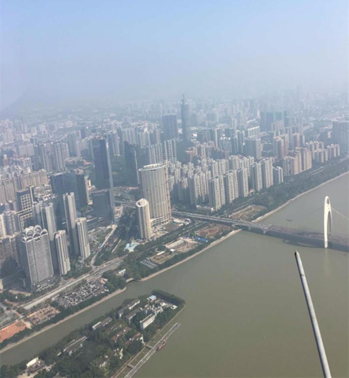 广州塔上看广州