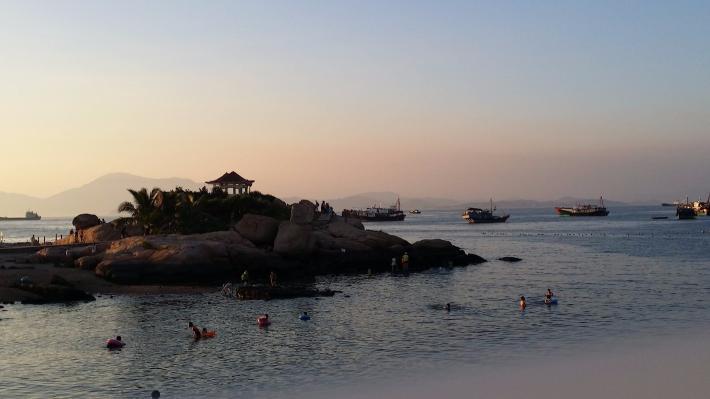 外伶仃岛海滩