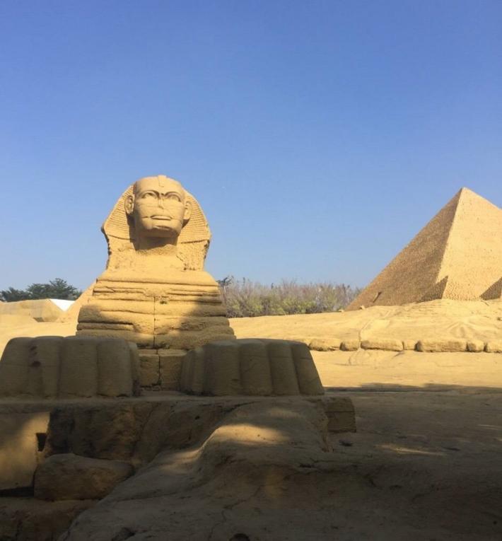 世界之窗金字塔