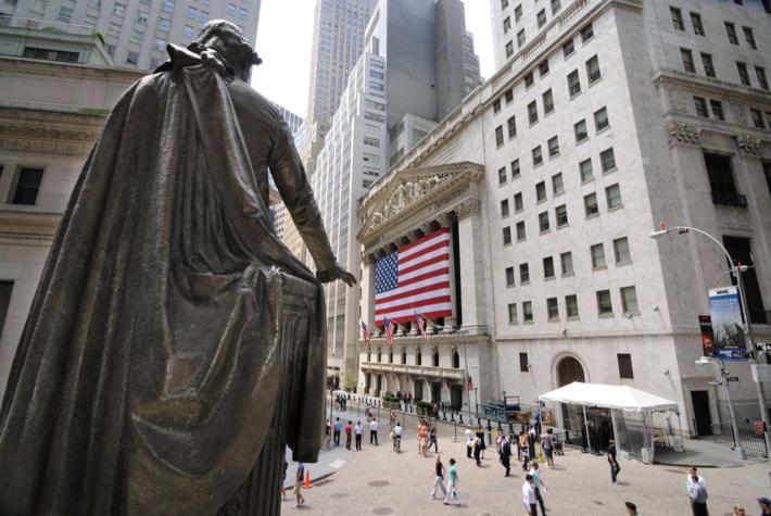 美国华尔街