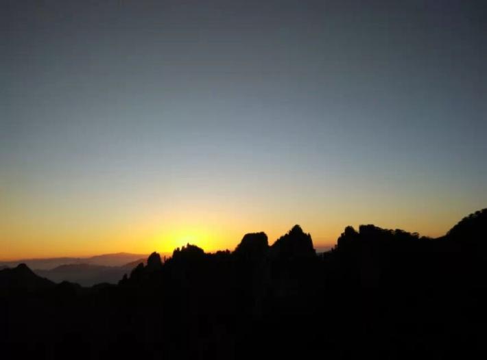 黄山风景区观日台