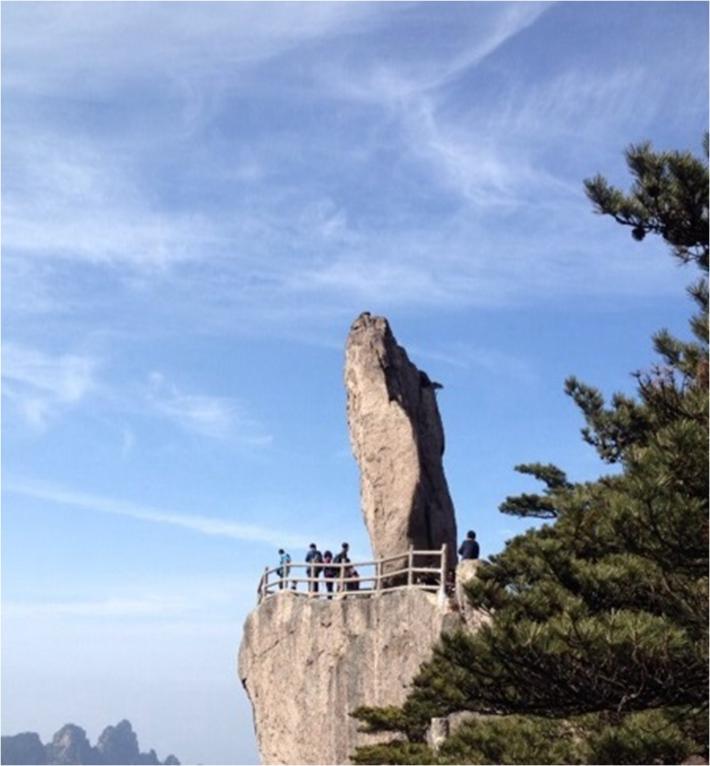 黄山风景区飞来石