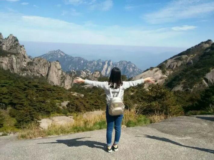 黄山风景区鳖鱼峰