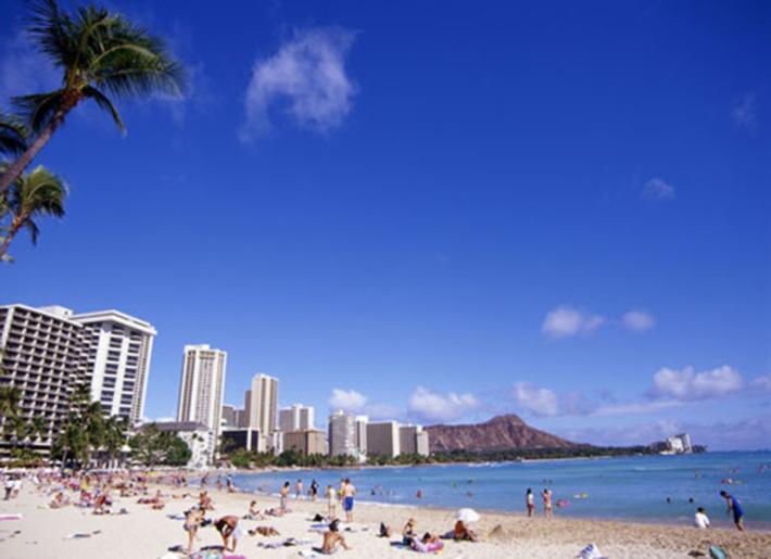 Waikiki海滩