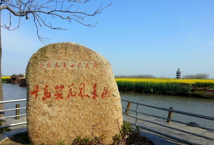 千岛油菜花景区