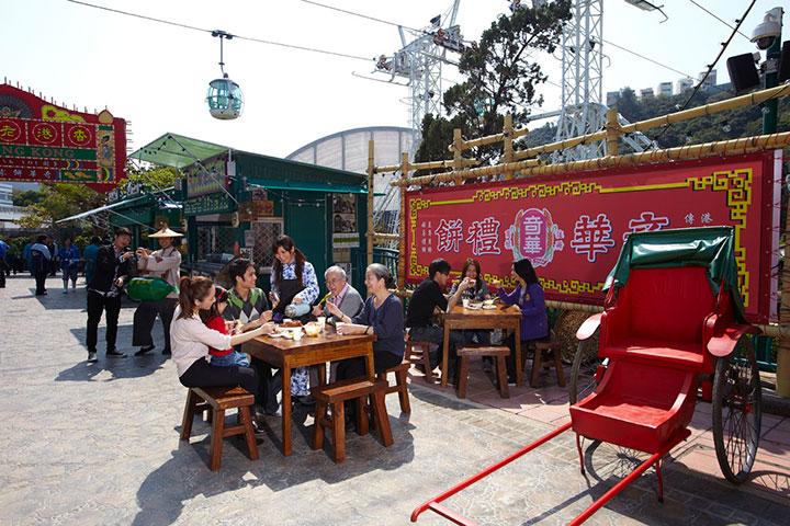 【乐园】香港海洋公园1天*单程*直通巴士