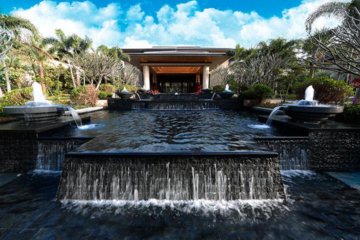 广州从化卓思道温泉度假酒店-合院四房别墅(3大1双,带私家池)
