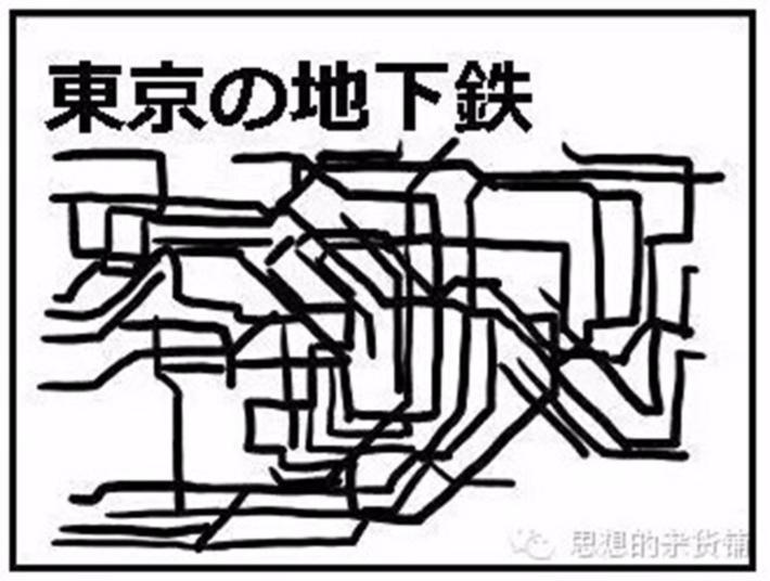 东京地铁图