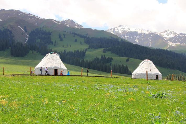 新疆那拉提草原