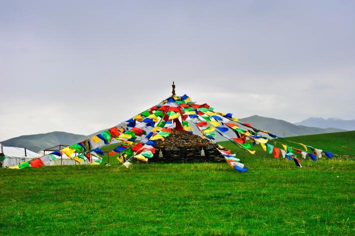 祁连山草原