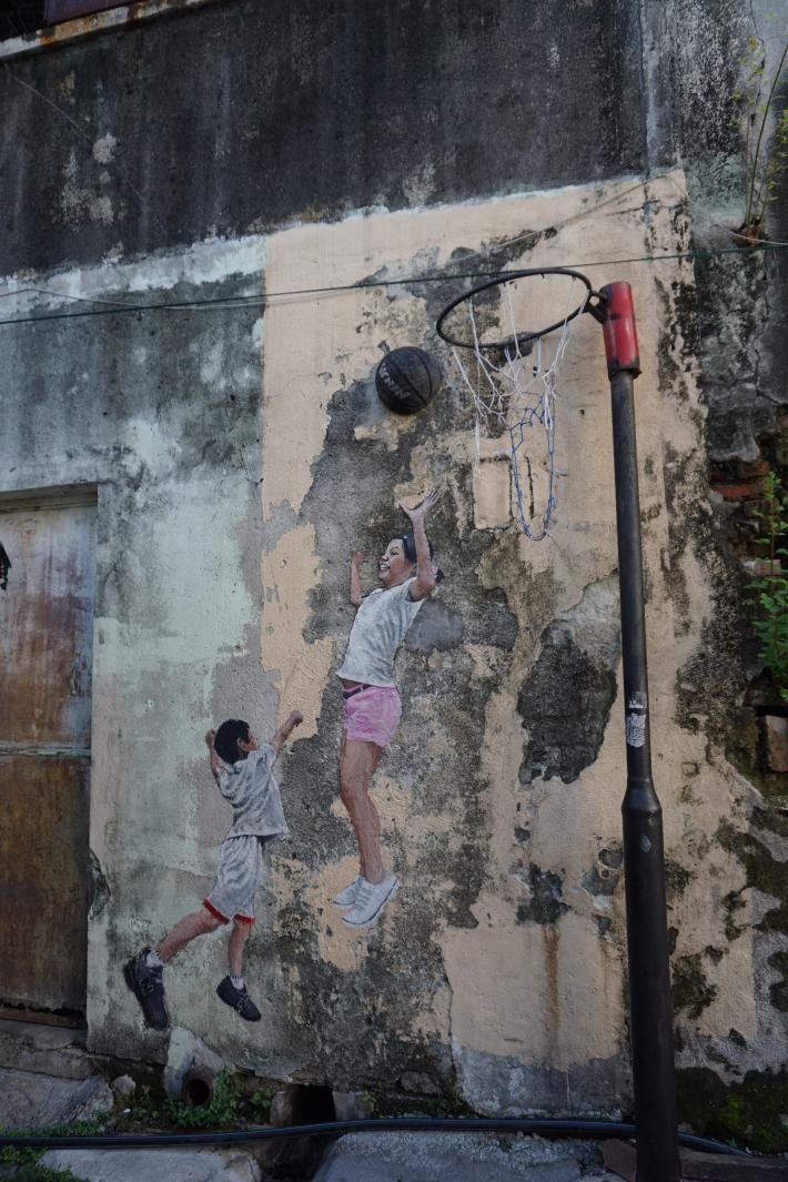 槟城乔治市壁画