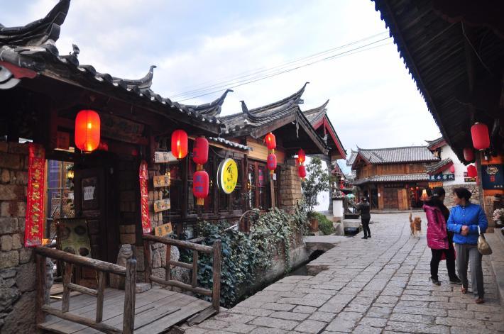 丽江束河古镇