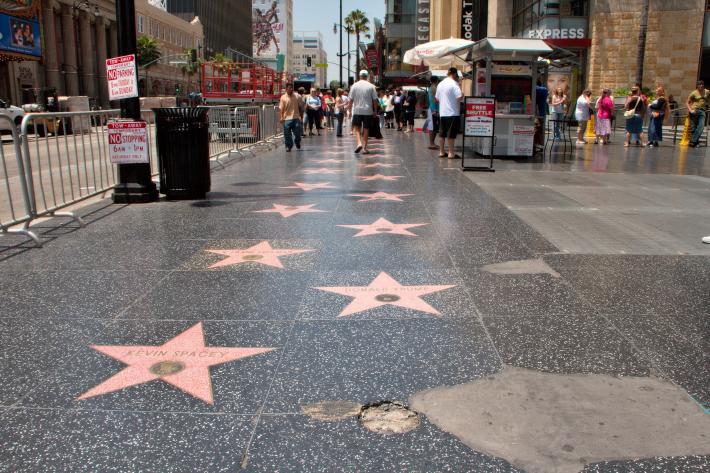 美国好莱坞大道