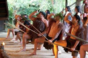 新西兰-【当地玩乐】新西兰罗托鲁瓦 夜游米泰毛利村Mitai Maori Village(门票+毛利歌舞+毛利晚餐).等待确认