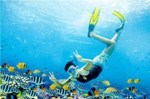 巴厘岛-【当地玩乐】巴厘岛 蓝梦岛+海底漫步+浮潜+下午茶+赠送照片 (MARINE WALK).等待确认
