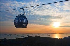 【当地玩乐】新加坡-【当地玩乐】新加坡圣淘沙双线往返缆车票含入岛费.等待确认