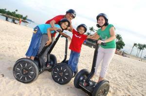 新加坡-【当地玩乐】新加坡巴拉湾或西乐索海滩赛格威®骑行体验.等待确认