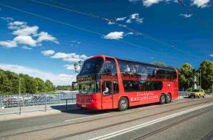 瑞典-【当地玩乐】瑞典 斯德哥尔摩 75分钟全景城市观光巴士 无停车一站式观光(含中文语音导览).等待确认