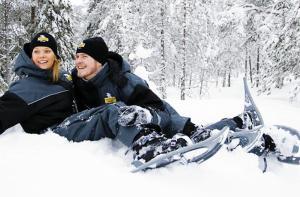 芬兰-【当地玩乐】芬兰 罗瓦涅米 雪鞋行走体验.等待确认
