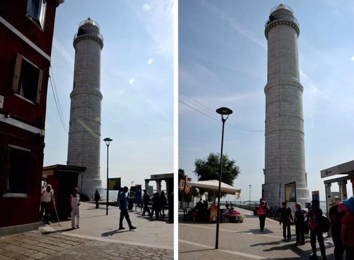 码头的灯塔(Murano Faro),是穆拉诺岛的标志性建筑