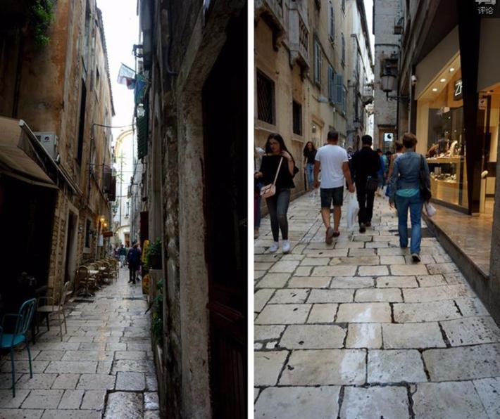 城里的巷道狭窄而众多,形成了迷宫般的网络