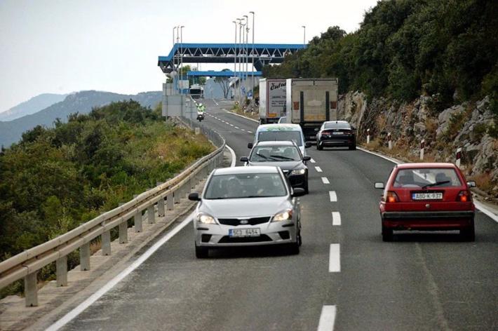 9:15 到达克罗地亚与波黑(涅姆小镇)的边界