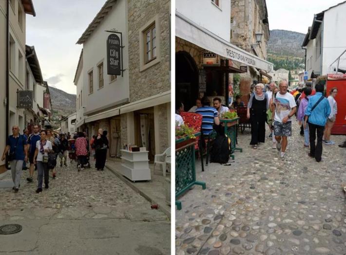 老城的老集市入口