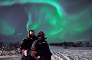 极光-【当地玩乐】挪威 希尔科内斯 乘车追寻极光之旅.等待确认