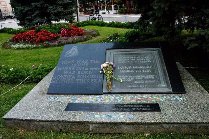 特蕾莎修女出生地纪念碑