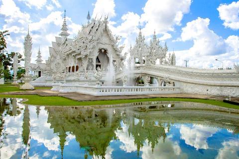 泰国清迈清莱5天.无购物自费.泰式按摩.1晚超豪华酒店