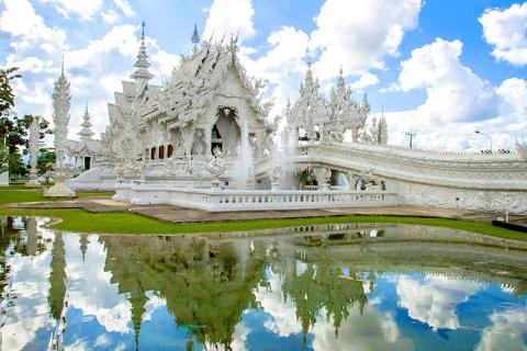 泰国清迈、清莱5天*安心之旅<全程无购物无自费,泰式按摩,皇太后行宫,老挝岛,升级超豪华酒店>