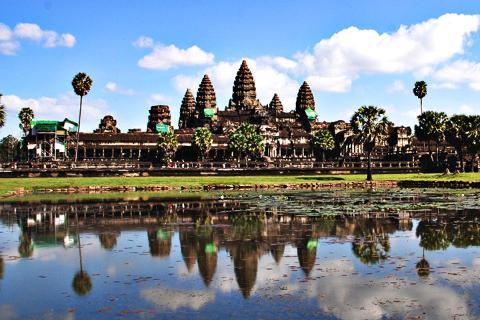柬埔寨吴哥5天.深度之旅.吴哥窟3天门票.崩密列.女皇宫