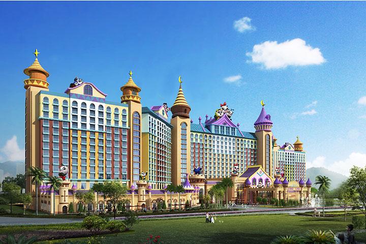 广州长隆熊猫酒店-【直连】帅帅大床房(2天1晚双人--动物园+自助午餐)