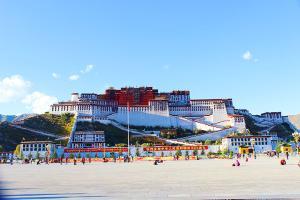 西藏-【典·休闲】西藏、拉萨、三飞6/7天*休闲拉萨*豪华藏式酒店*乐游<布达拉宫,扎基寺,羊卓雍湖>