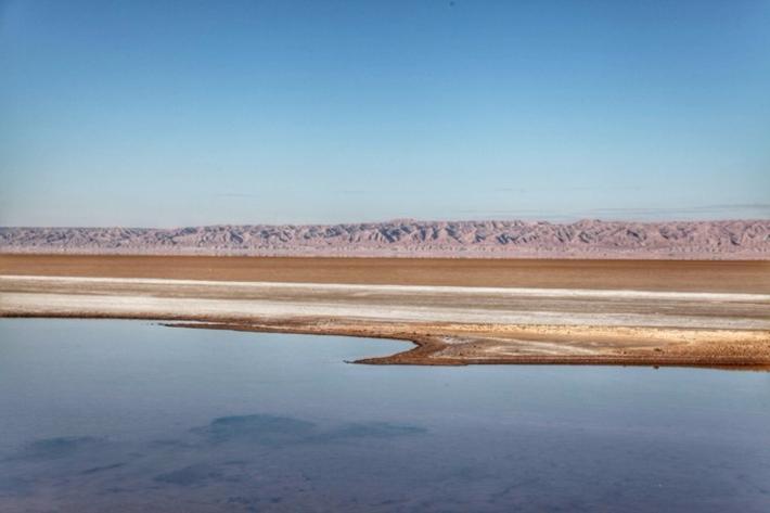 绍特杰瑞德盐湖