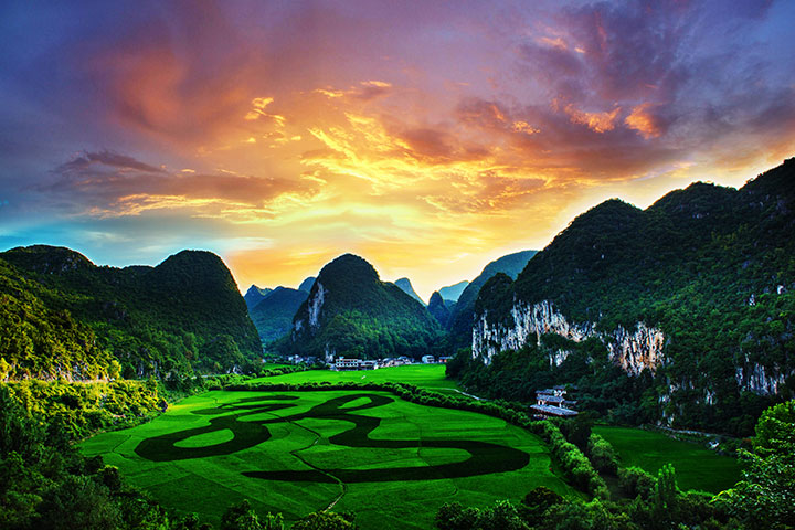 【尚·深度】贵州、安顺、六盘水、动车4天*乌蒙大草原*黄果树*乐游<草原云海>
