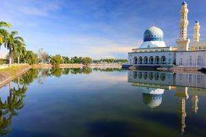 东南亚-【乐·休闲】马来西亚沙巴5/6天*精选*马穆迪岛<提供浮潜用具,蓝色清真寺,充足自由活动时间,沙巴第一沙滩>