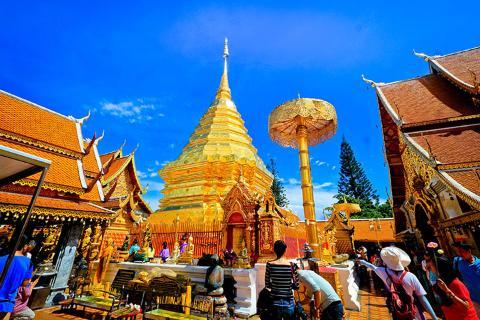 暑期预售-泰国清迈清莱5天.纯玩.式按摩.1晚超豪华