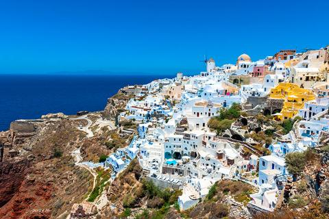 希腊10天*ATZ*扎金索斯岛*圣托里尼岛*升级悬崖酒店
