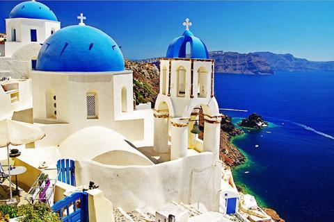 希腊10天*ATH*圣托里尼2晚当地特色悬崖酒店*米高诺斯岛