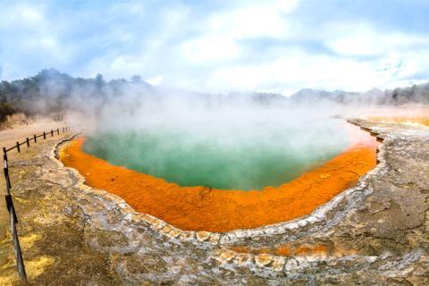 【尚·深度】新西兰南北岛8-10天*冰川峡湾<地热奇景香槟池,浪漫蓝萤,缆车自助餐>