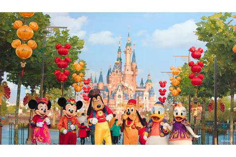 上海迪士尼乐园一日成人票