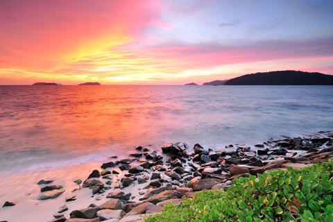 马来西亚沙巴、仙本那5/6天*四岛跳岛游.2次浮潜