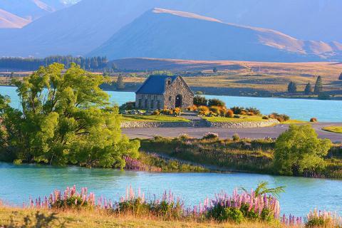 澳洲名城.新西兰南岛12天.直升飞机观景.现抓现吃三文鱼