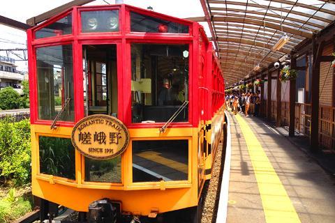 日本【交通票】京都岚山观光小火车车票