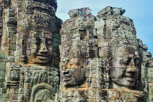 柬埔寨【移动-【尚·深度】柬埔寨、吴哥5天*星享*爱心之旅<吴哥窟3天门票,崩密列,女皇宫,罗洛士遗迹群,探访孤儿院>