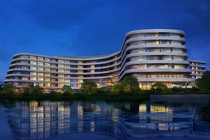 广州南沙花园酒店-豪华海景房+双早双晚