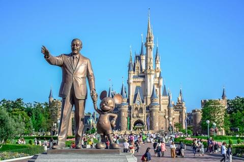 日本【门票】东京迪士尼乐园/海洋+单程巴士